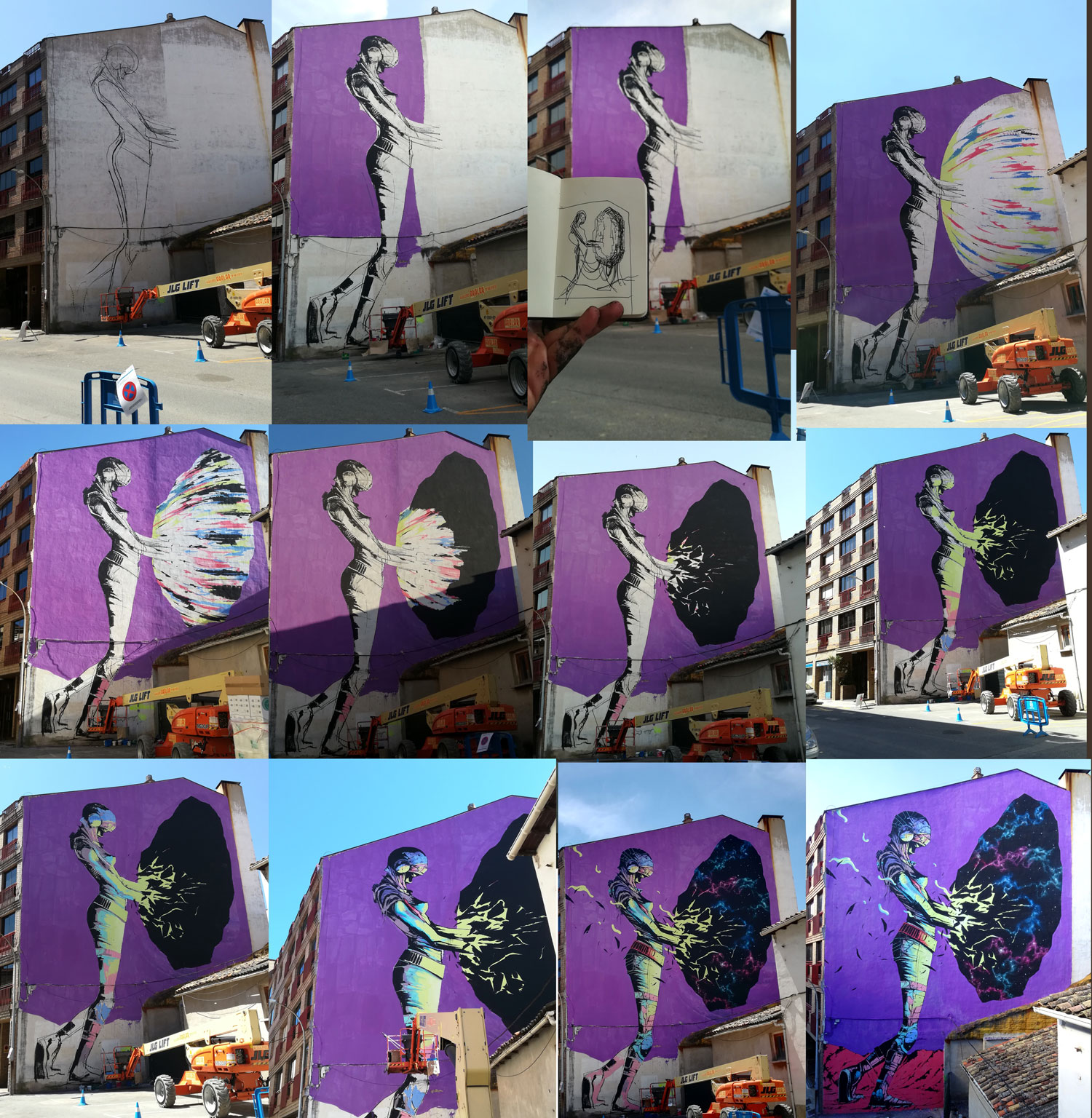 """A New Beginning"" by Deih in Spain Artes & contextos procesoweb"