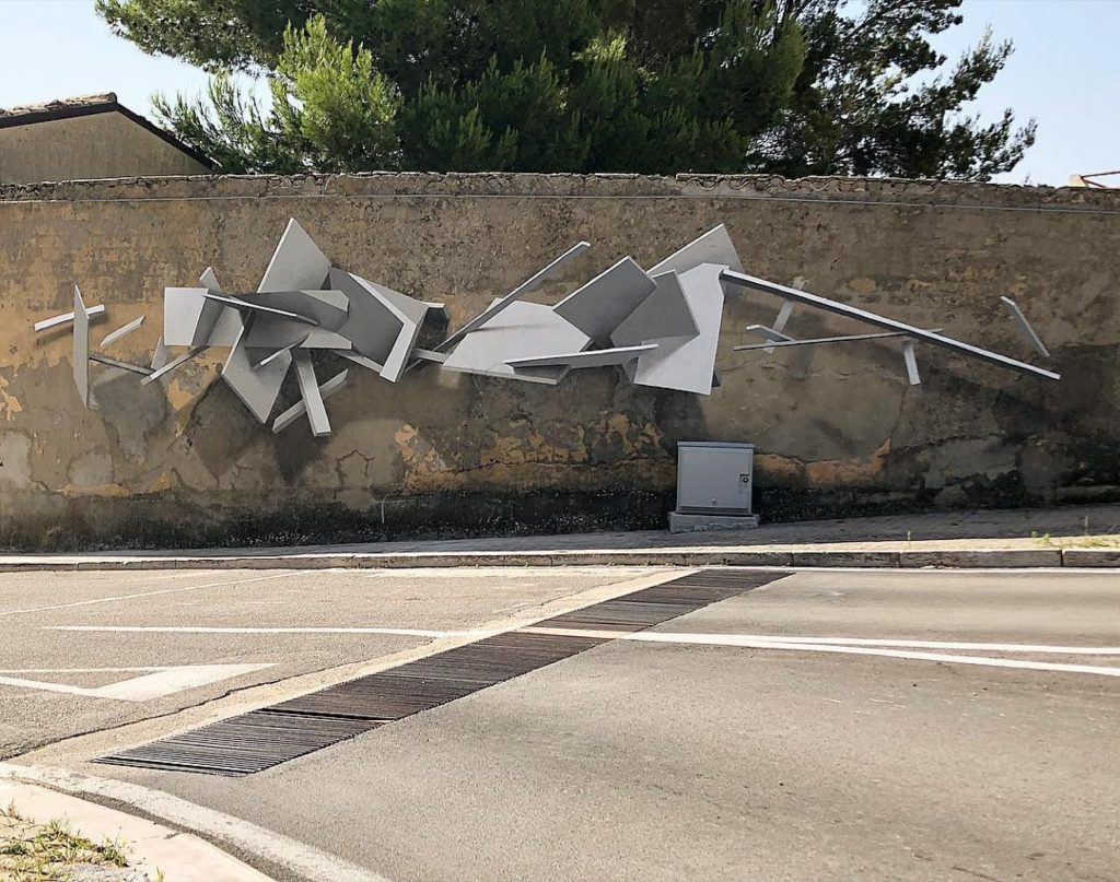 Soda latest intervention in Santa Croce di Magliano, Italy