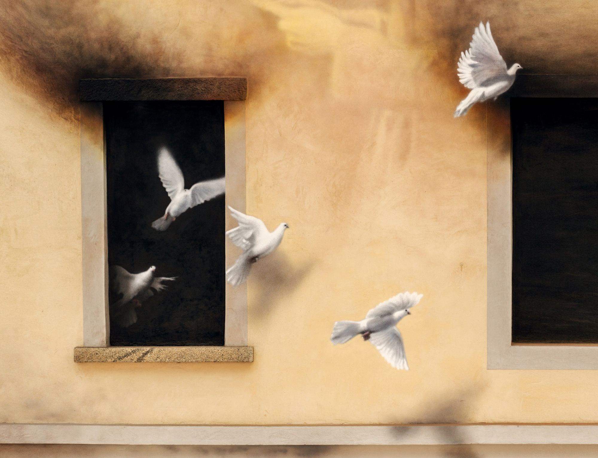 Anti-War Mural by Eron in Cevo, Italy - The Dallas Art Dealers ...