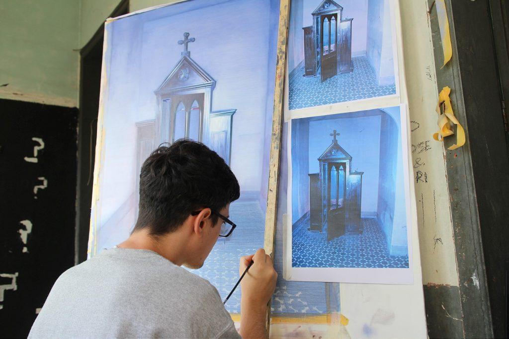 Creença (Belief) Art Residency in Spain Artes & contextos CREENCA Sasha Bogojev07