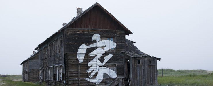 """""""Home"""" by Pøbel in Teriberka, Russia"""