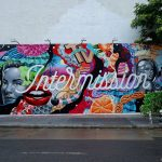 Tristan Eaton takes over The Bowery Wall, NYC