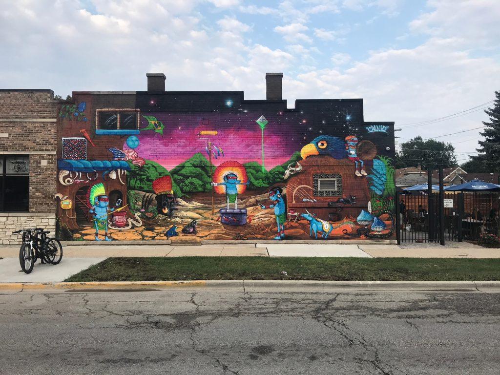 "Cranio Creates ""Jungle"" Of Colorful New Works In Chicago"