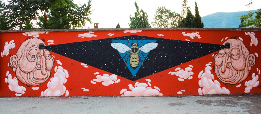 Luca Ledda in Bosnia and Herzegovina X Street Arts Festival Mostar