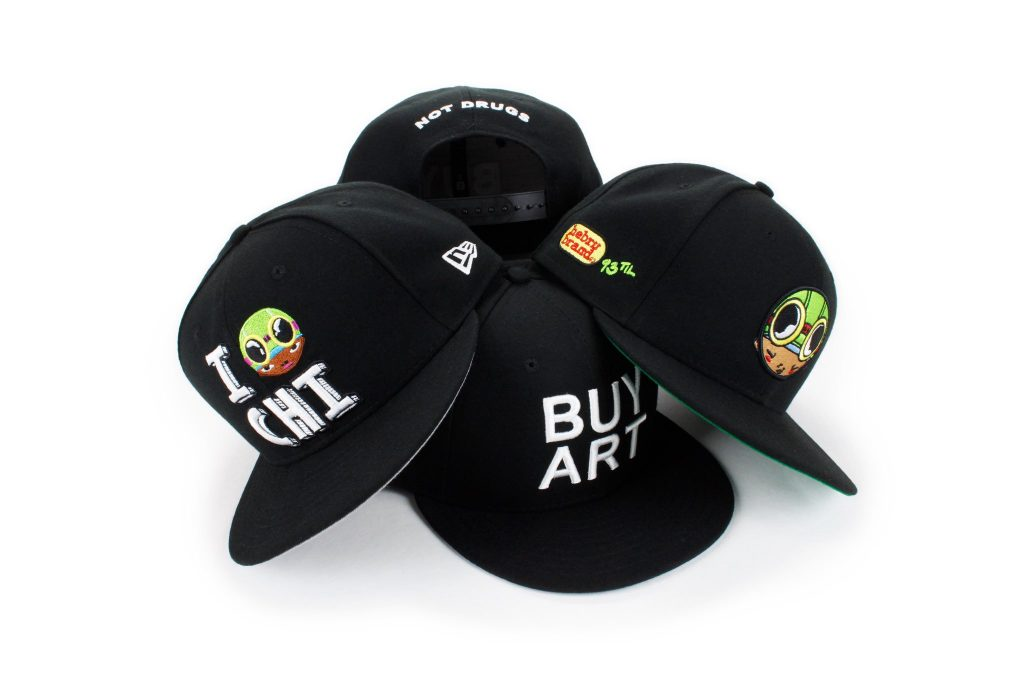 New Era Cap x Hebru Brantley 9FIFTY Snapback Collection