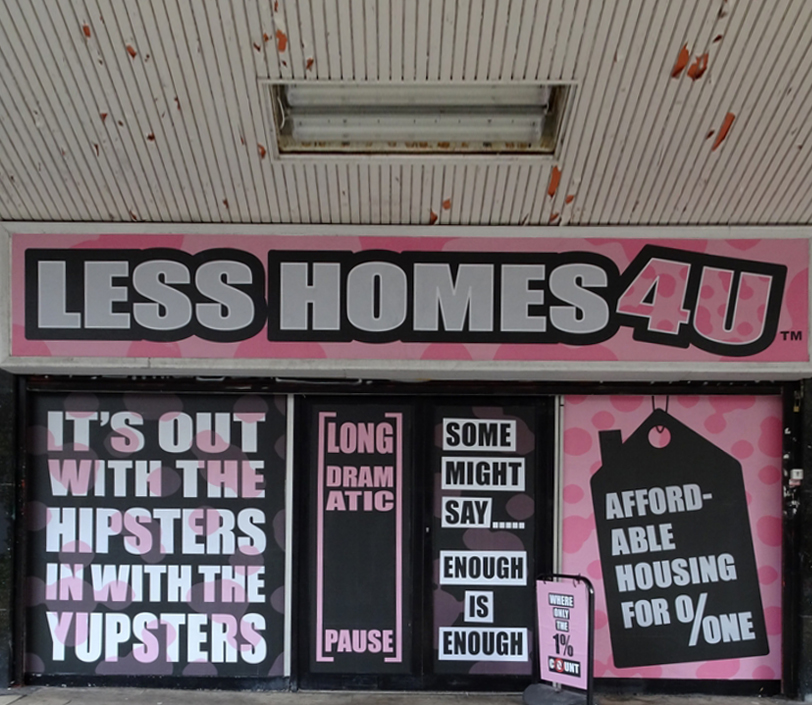 Croydon Rise Festival : Aida Wilde 'Less Homes 4U'