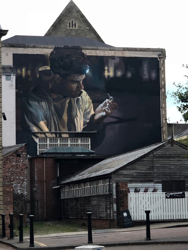 """The Origin Of Things"" by Case Ma'Claim in Blackburn, UK"