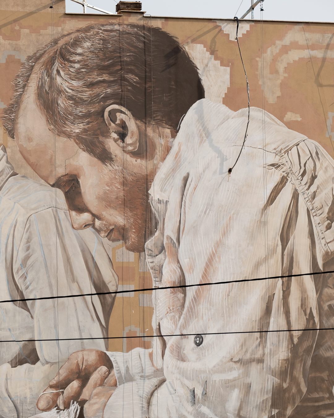 Fintan Magee & Guido Van Helten in Tehran, Iran Artes & contextos TehranGVH Instagram 2736