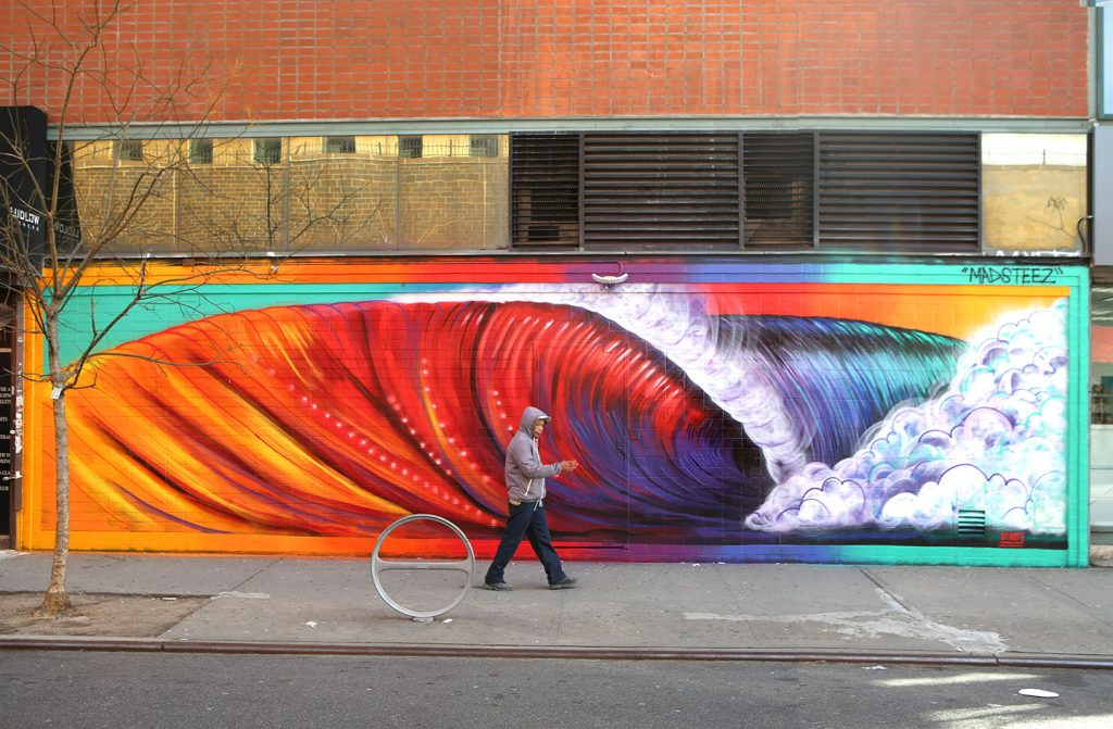 """WEENwave"" by Madsteez in New York City"