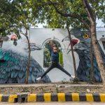 Adele Renault in New Delhi, India