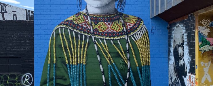 """Wajahbaru"" by Fin DAC in Melbourne"