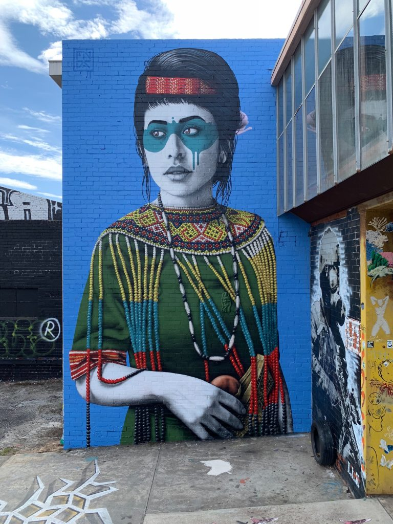 """Wajahbaru"" by Fin DAC in Melbourne"