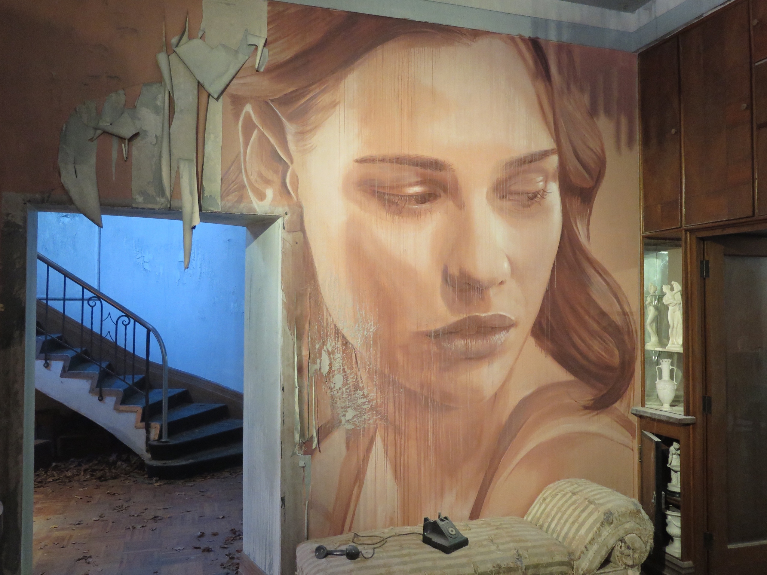 "RONE unveils ""Empire"", a stunning project in Melbourne Artes & contextos deansunshine landofsunshine melbourne streetart graffiti streetartnews RONE empire 4.5"
