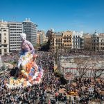 Pichiavo's monumental sculpture for Falles celebration in Valencia