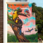 """Fragile"" by Dulk in Jacó, Costa rica"