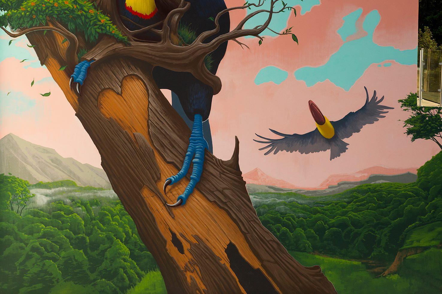 """""""Fragile"""" by Dulk in Jacó, Costa rica Artes & contextos 52682500 2054374368016796 2221176318907645952 o"""