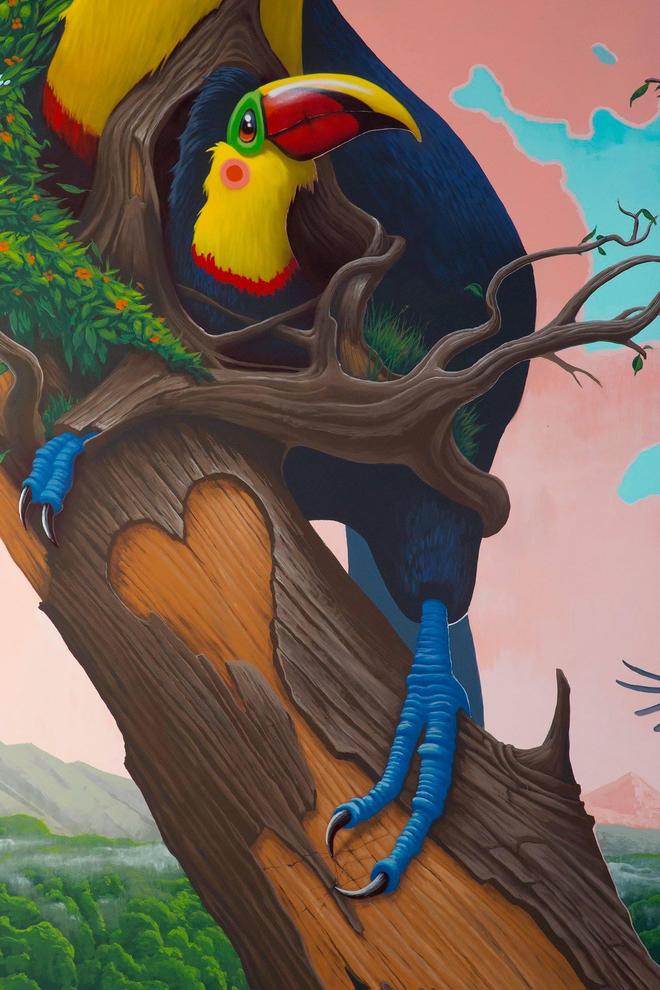 """""""Fragile"""" by Dulk in Jacó, Costa rica Artes & contextos 52777730 2054373691350197 2072590426358939648 o"""