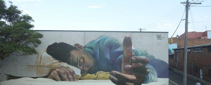 """Awakening"" by Case Ma'Claim in Port Kempla, Australia"