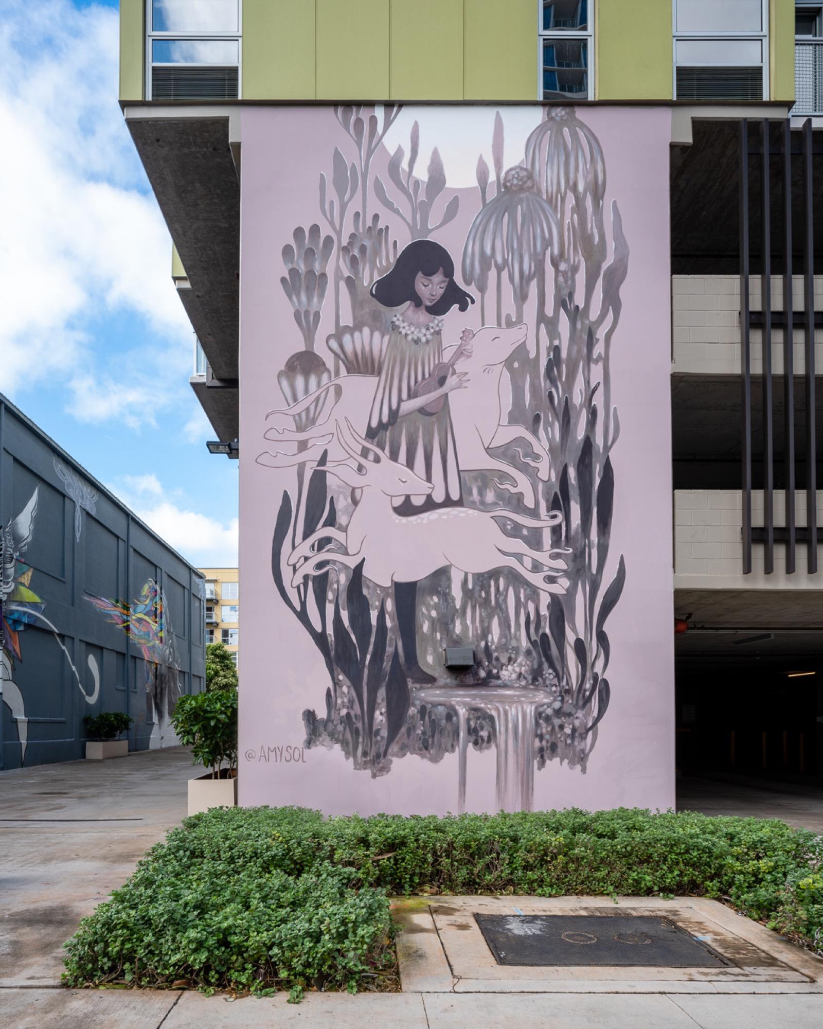Recap: POW! WOW! Hawaii 2019 Artes & contextos pwh2019 AmySol bshigeta
