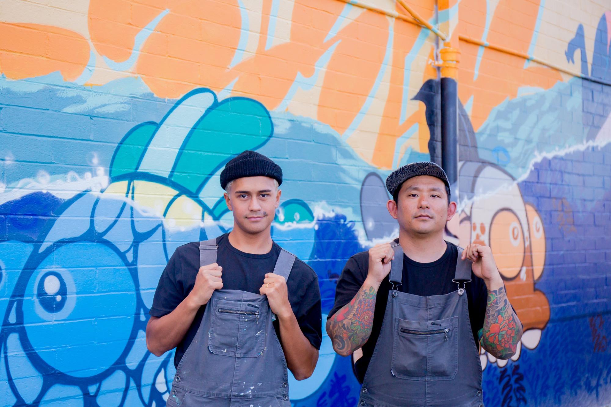 Recap: POW! WOW! Hawaii 2019 Artes & contextos pwh2019 GaryDrawsFish JackSoren lannycatcheswalls
