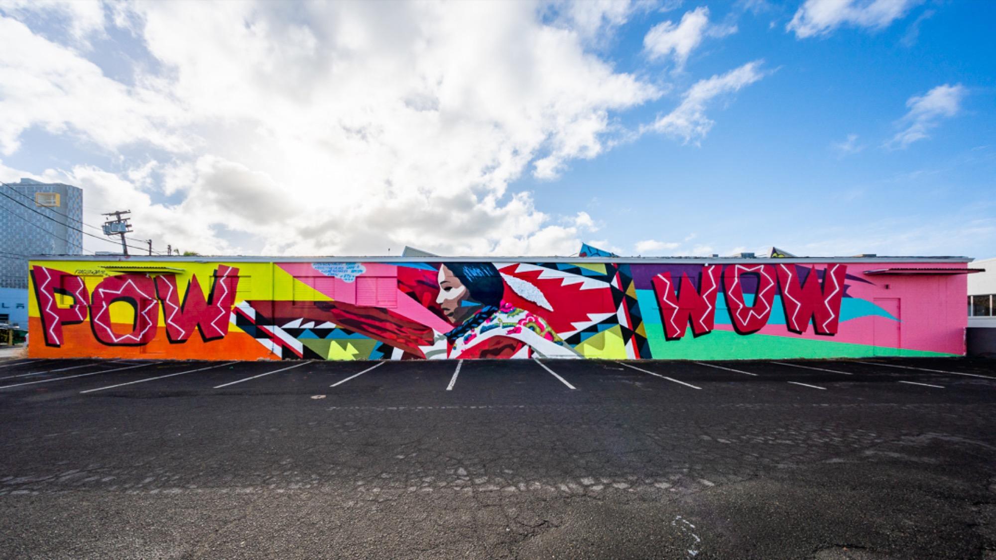 Recap: POW! WOW! Hawaii 2019 Artes & contextos pwh2019 JaqueFragua bshigeta
