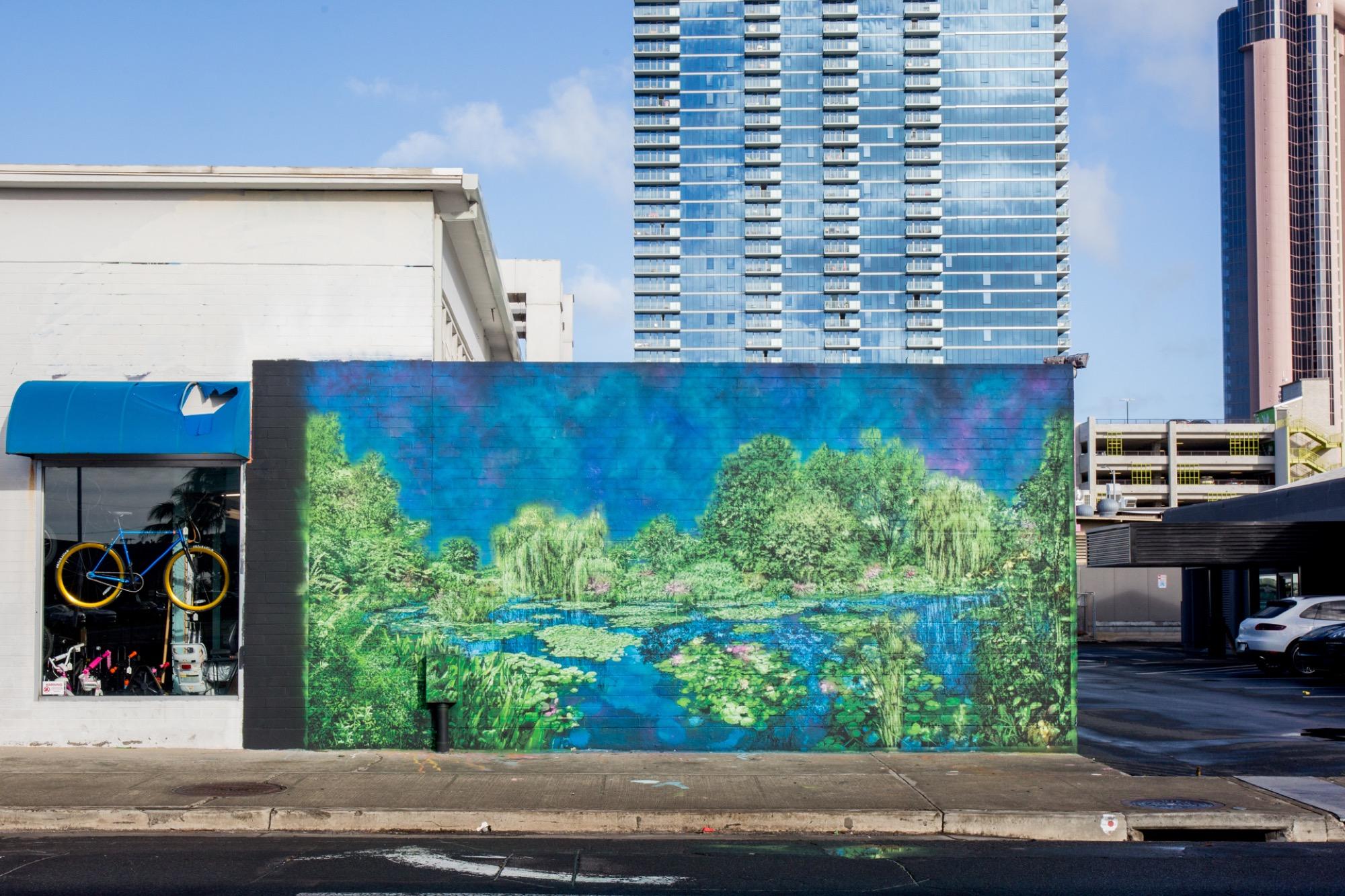 Recap: POW! WOW! Hawaii 2019 Artes & contextos pwh2019 LoganHicks 01 lannycatcheswalls