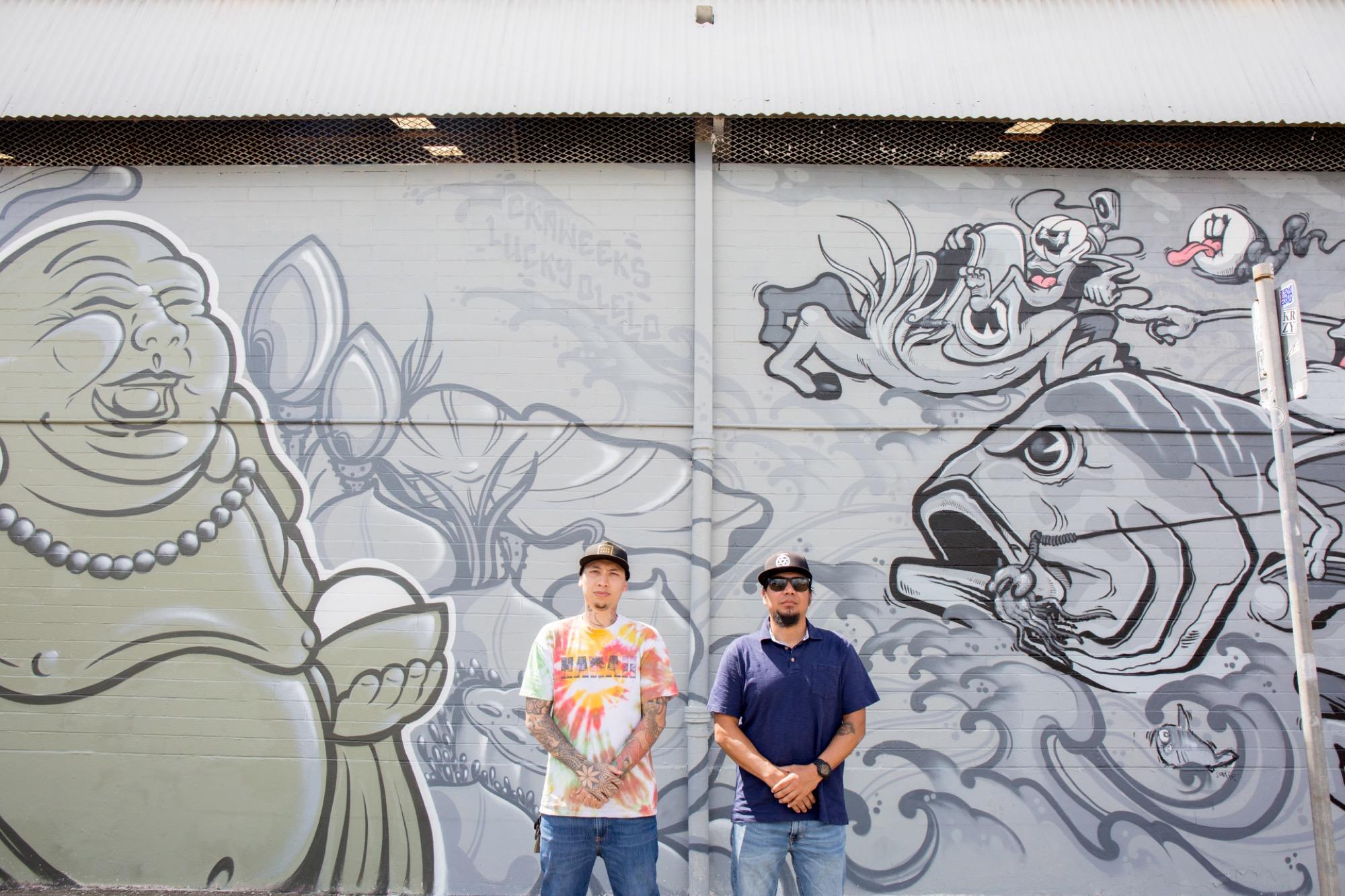 Recap: POW! WOW! Hawaii 2019 Artes & contextos pwh2019 LuckyOlelo Ckaweeks lannycatcheswalls