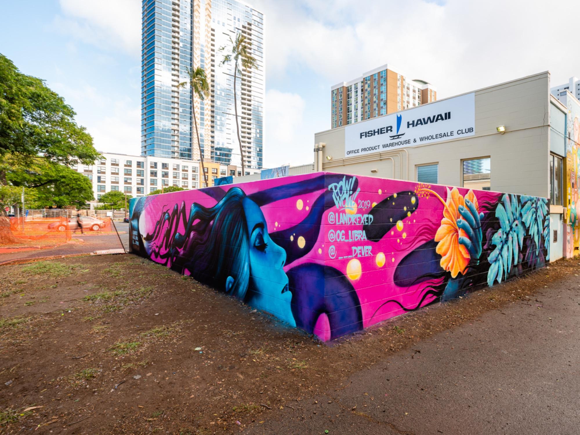 Recap: POW! WOW! Hawaii 2019 Artes & contextos pwh2019 LukeDeKneef bshigeta