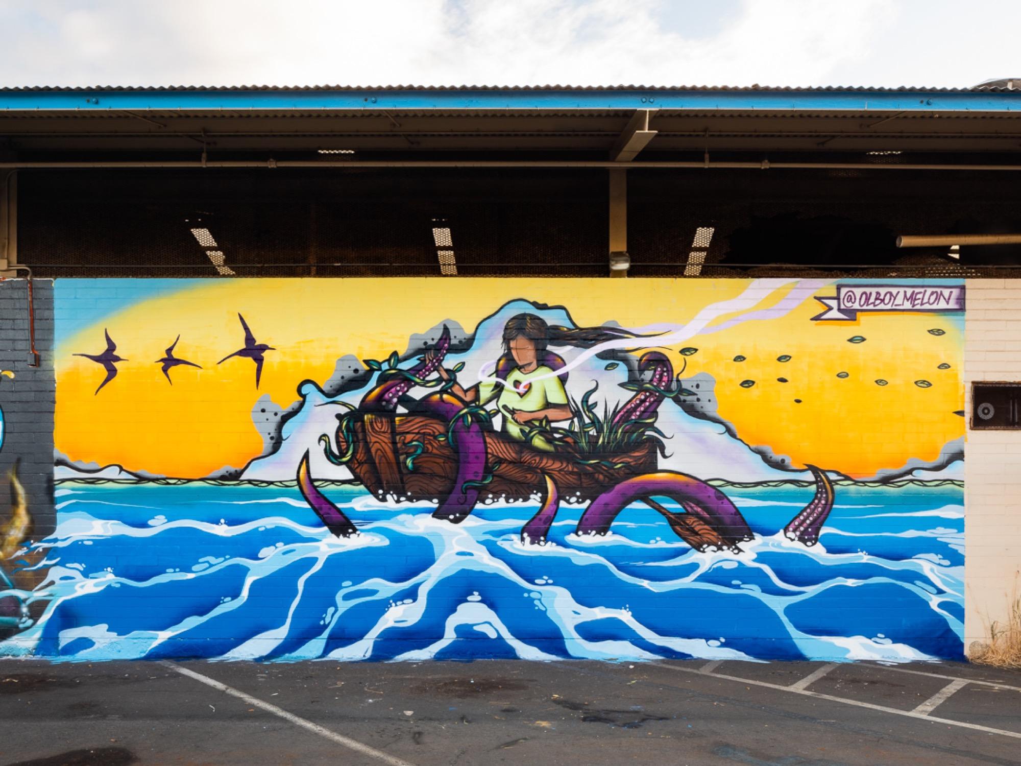 Recap: POW! WOW! Hawaii 2019 Artes & contextos pwh2019 MelonJames bshigeta