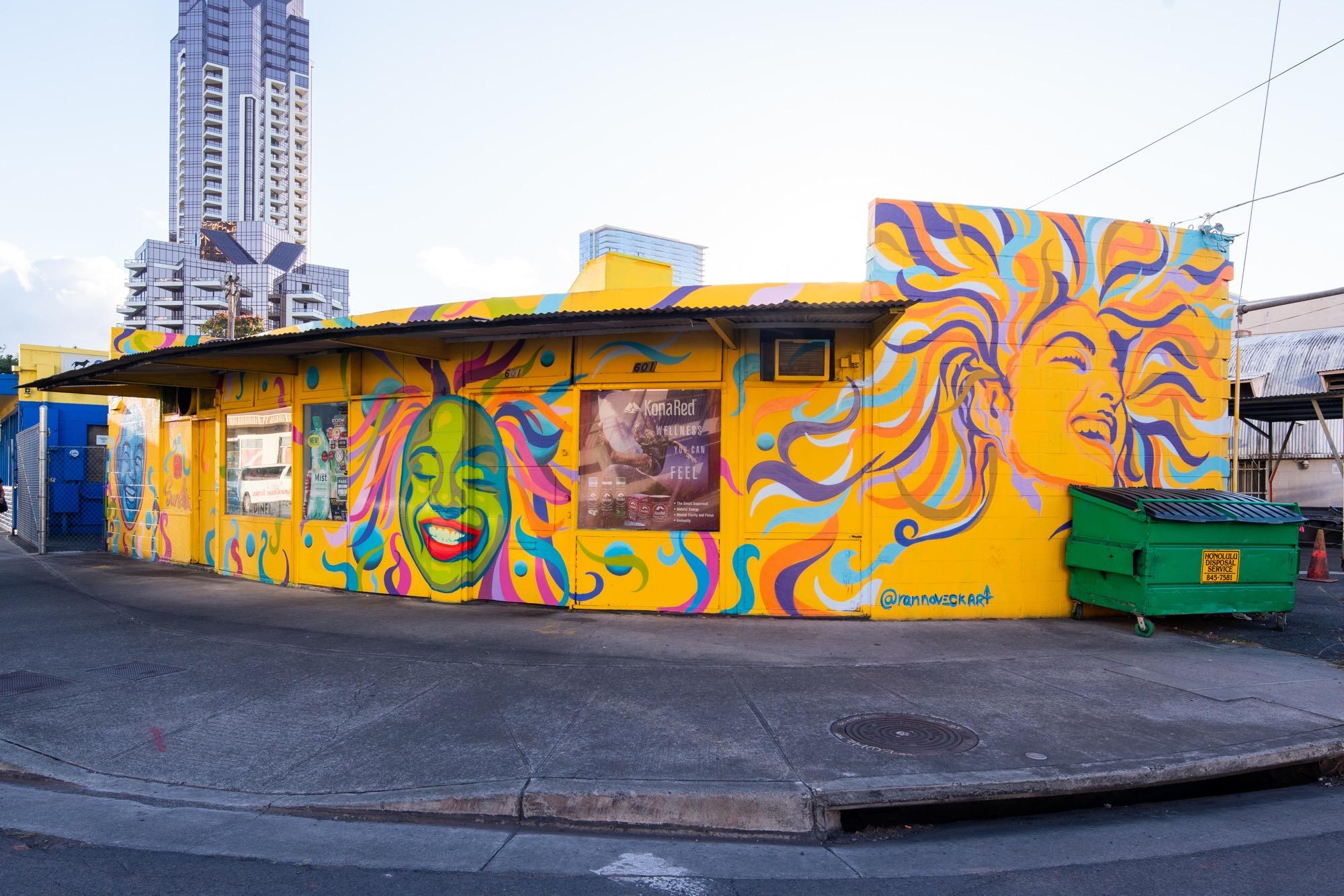 Recap: POW! WOW! Hawaii 2019 Artes & contextos pwh2019 RanNoveck mrjasperwong