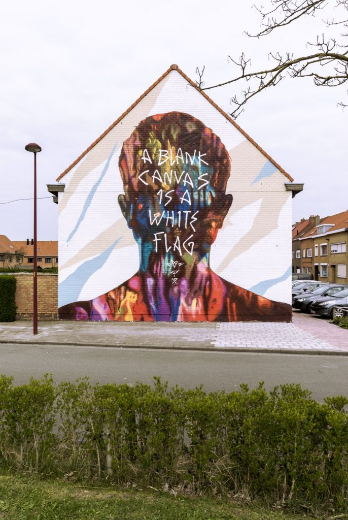 David Walker in Ostend, Belgium for The Crystal Ship