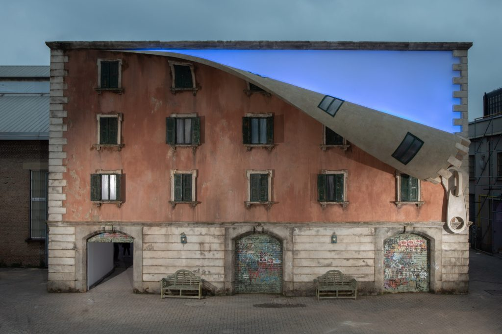 Alex Chinneck at Milan Design Week 2019