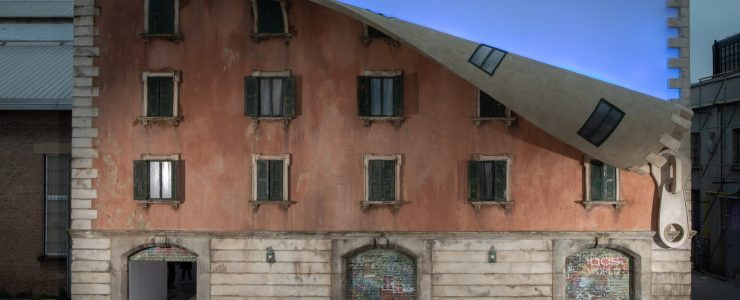 Alex Chinneck at Milan Design Week 2019