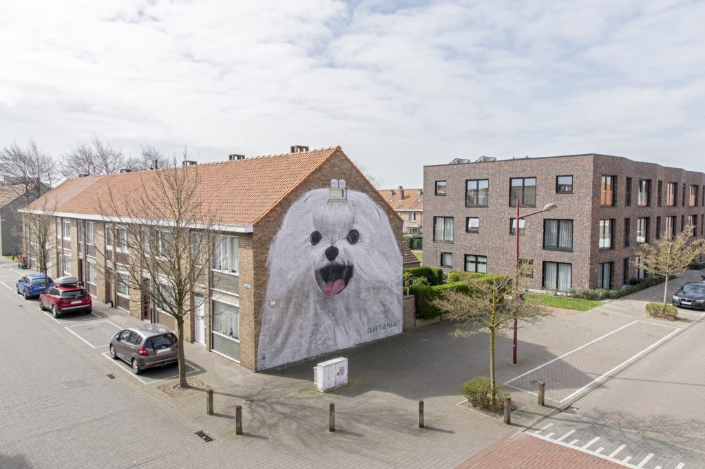The Crystal Ship 2019: Escif in Oostende, Belgium