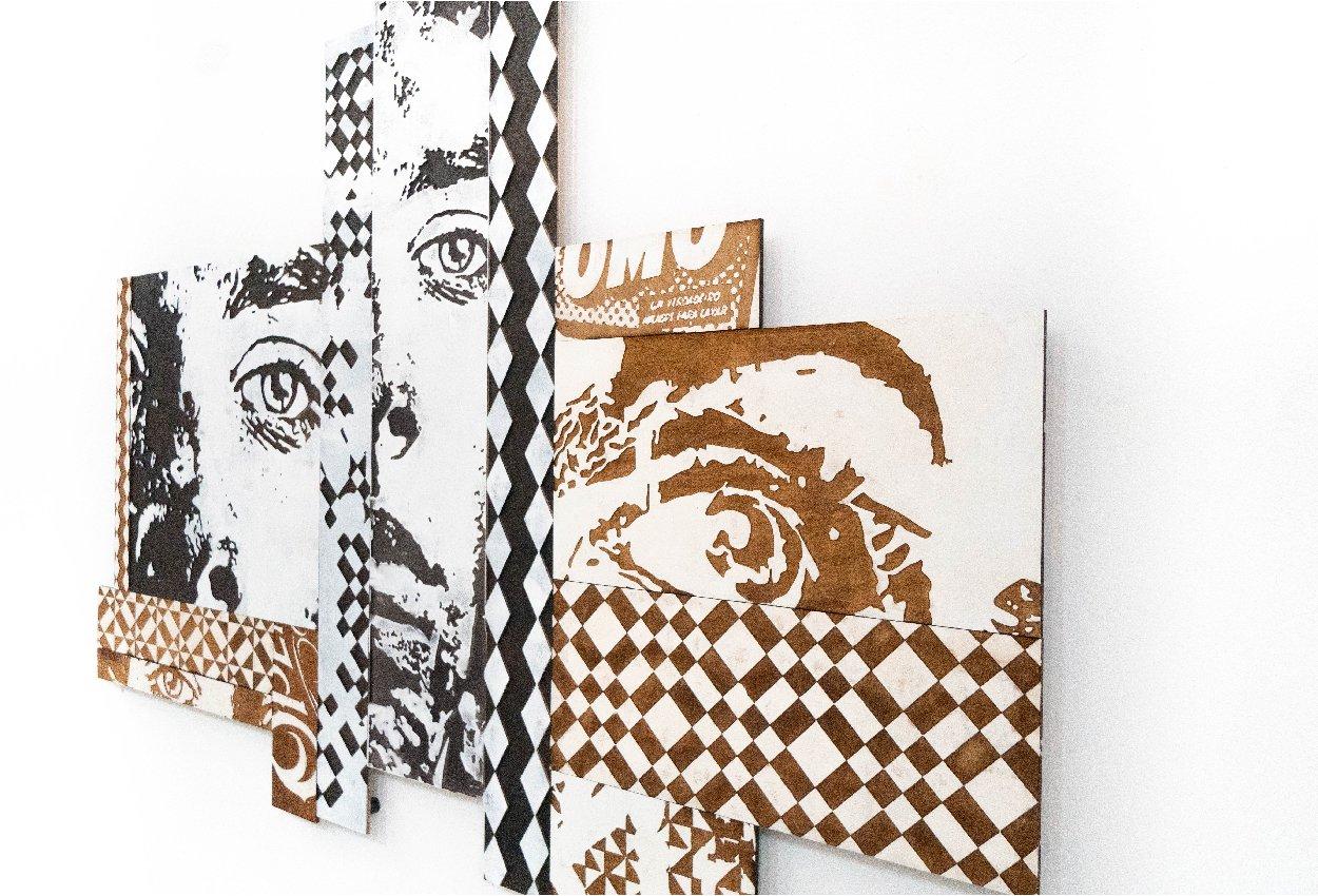Felipe Pantone x Vhils for Configurable Art Artes & contextos VHILS Mesa de trabajo 1