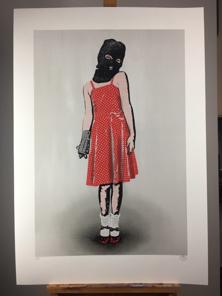 "Nick Walker ""Vandal Child"" Limited Edition Print Release"
