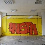 """EmptyGram"" by Biancoshock and Flecso in Milan, Italy"