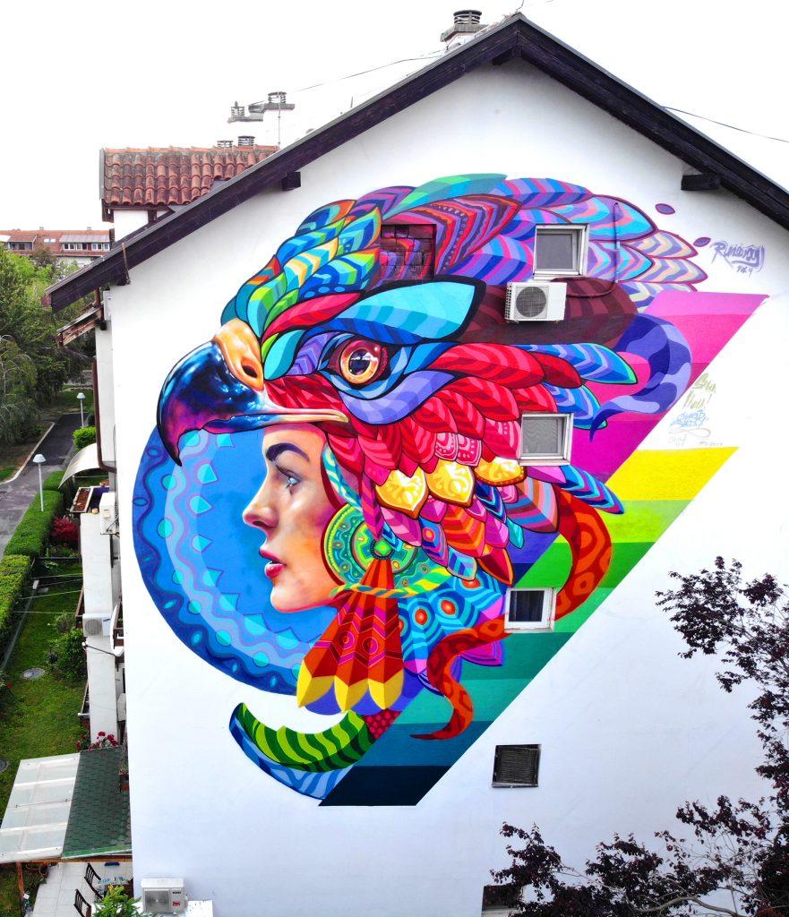 Farid Rueda in Belgrade, Serbia