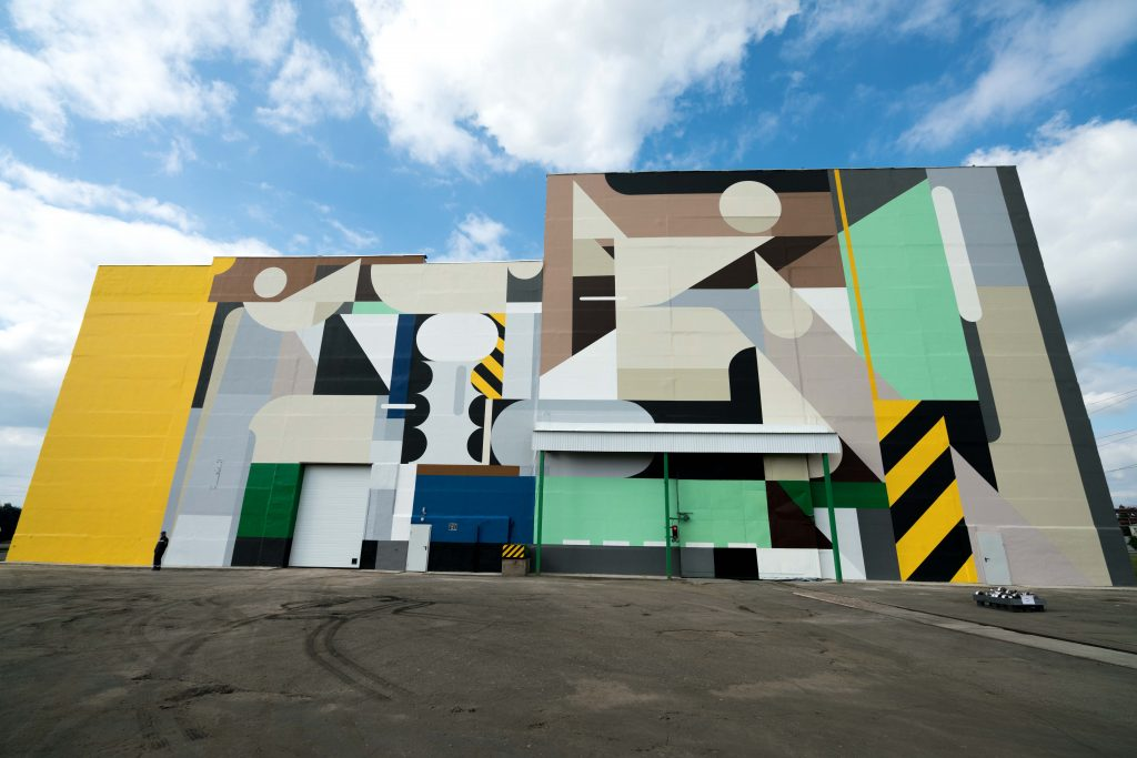 Alexey Luka for Art Ovrag in Viksa, Russia