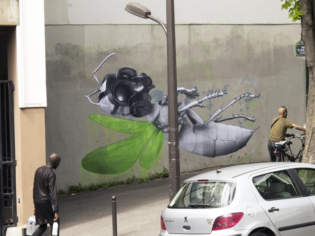 """Levitation"" by Ludo in Paris, France"