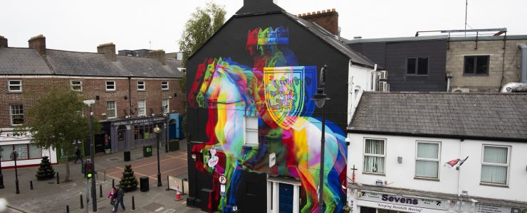 """Edward Bruce"" by ACHES in Dundalk, Ireland"