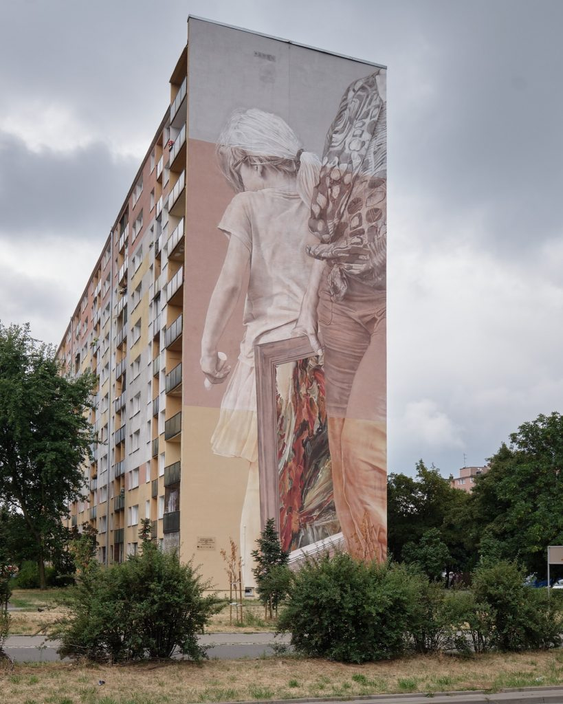 Guido van Helten in Poland for Urban Forms