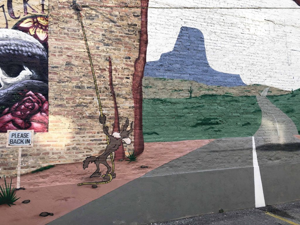 E. LEE Brings Back Wile E Coyote In Chicago