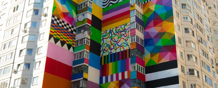 Okuda in Odintsovo, Russia for Urban Morphogenesis