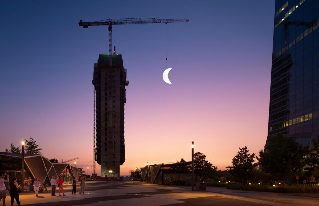 """MOON"" SpY's new installation in Madrid"