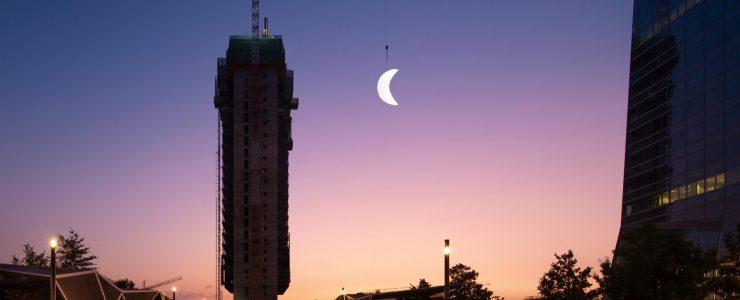 """MOON"" SpY's new installation in Madrid"