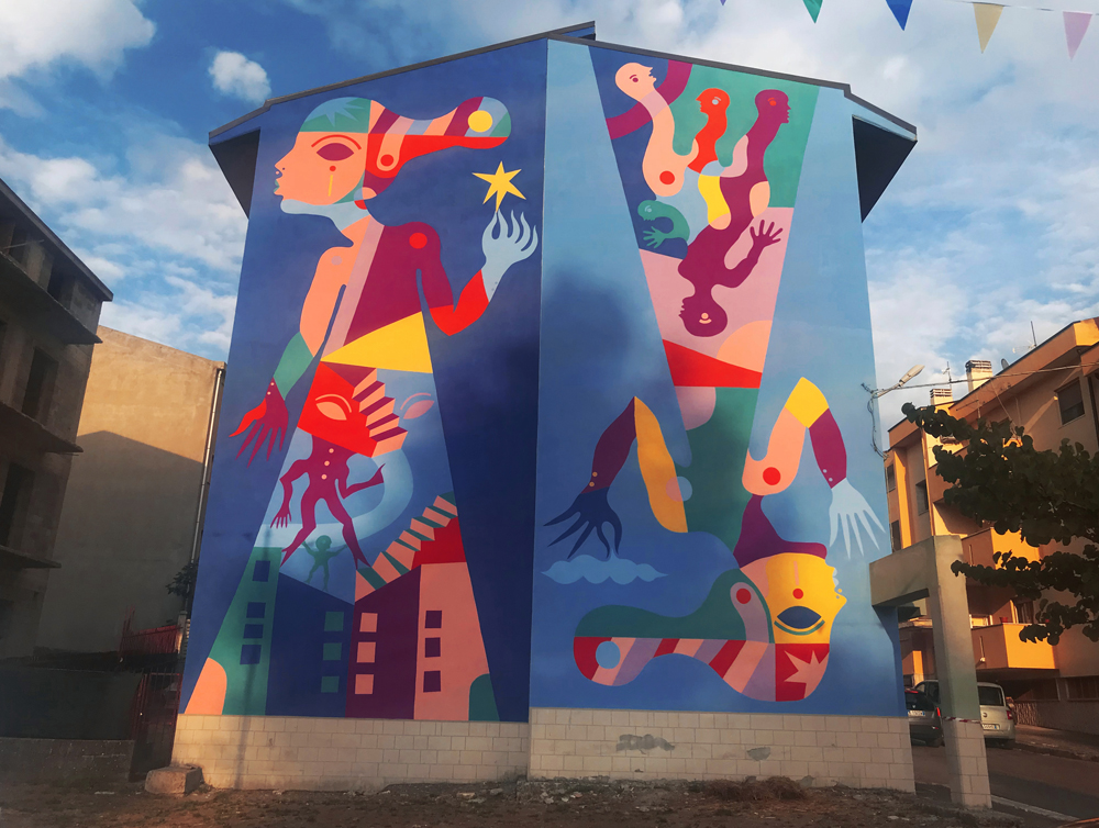 La Mandarra, VVITCH- a new project by Gio Pistone in Basilicata, Italy.