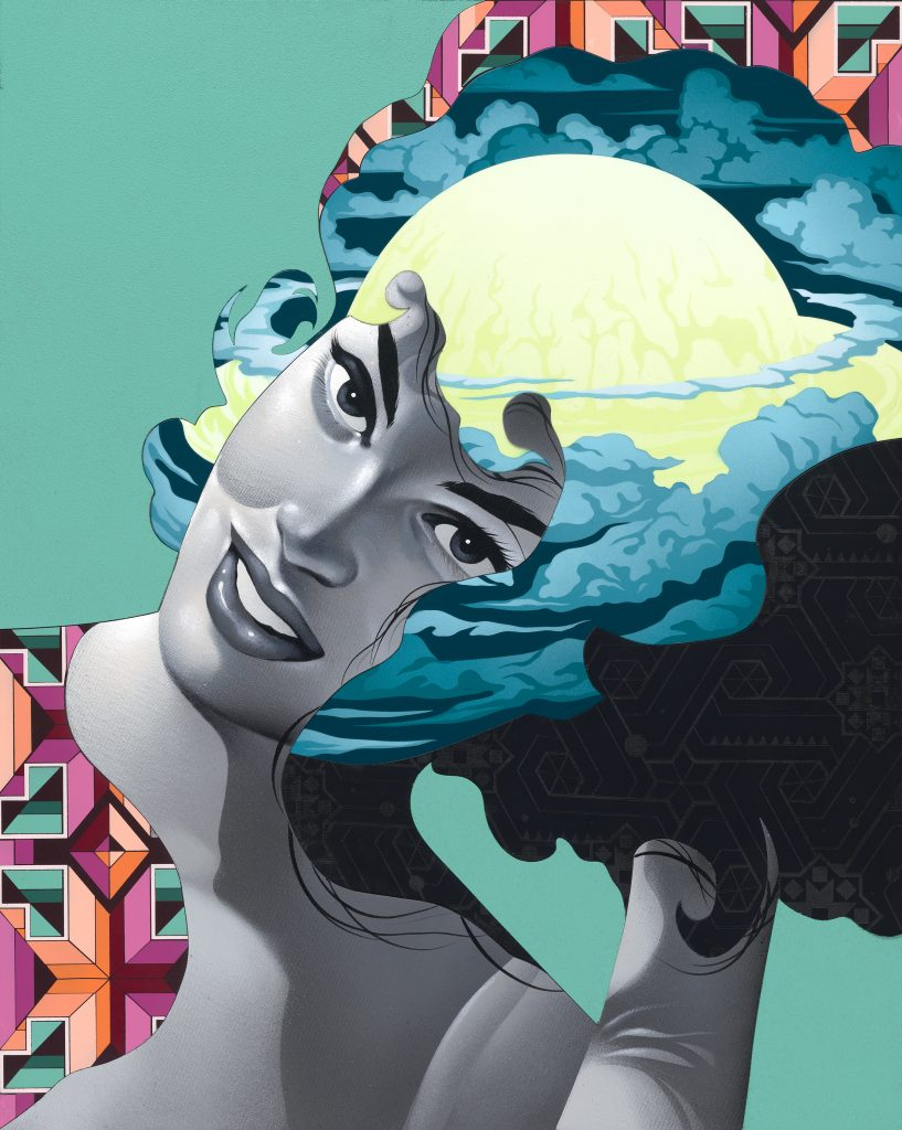 "Tristan Eaton ""Strange Future"" An Exhibition of New Works Opening 10/3/19 NYC"