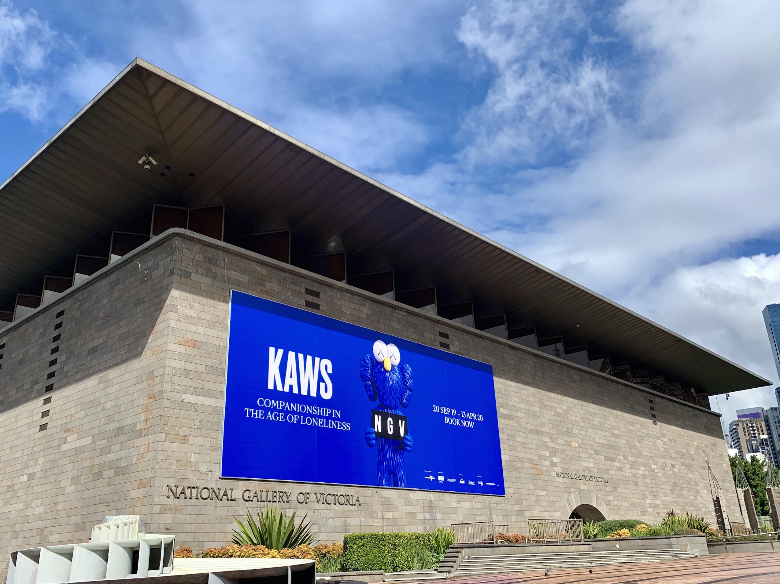 Coverage: Kaws Museum Exhibition At NGV Melbourne Artes & contextos deansunshine landofsunshine melbourne streetart graffiti streetartnews KAWS Melbourne NGV 24