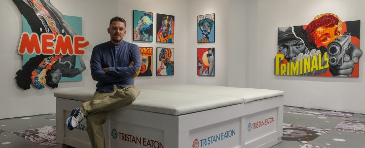 """Interview & Coverage – Tristan Eaton """"Strange Future"""" An Exhibition of New Works NYC"""